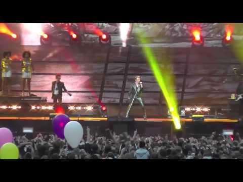 JOHNNY HALLYDAY - ALLUMER LE FEU - STADE DE FRANCE 16 Juin 2012