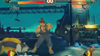 Street Fighter IV PC gameplay All low settings Part 1