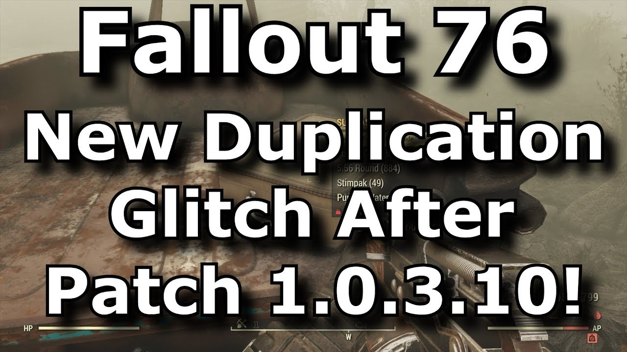 Fallout 76 New Duplication Glitch After Patch 1 0 3 10! Solo Duping  Exploit! (Fallout 76 Glitches)