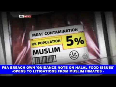 HFA certified Pork based products as halal