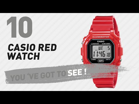 fb220e827 News-casio f 108whc 4acf classic red stainless steel watch
