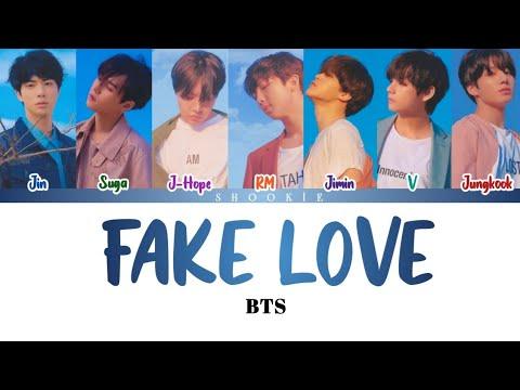 BTS (방탄소년단) - Fake Love   Kolay Okunuş