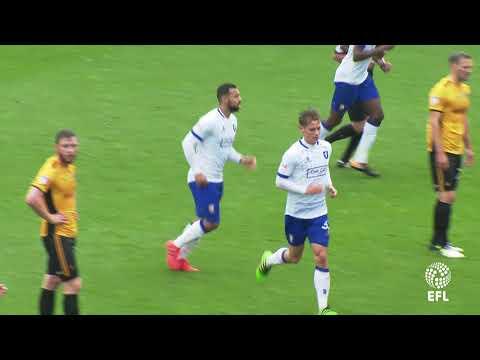 Danny Rose scores at Newport, 21Oct2017