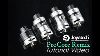Joyetech ProCore Remix 3 in 1 Tank Video