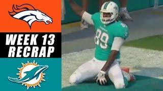 Julius Thomas Humps Football While Destroying Broncos 35 - 9