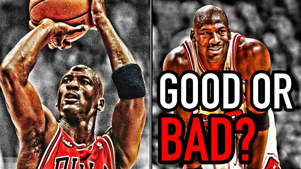 The Story of Michael Jordan's Three Point Shooting - YouTube