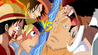 One Piece Burning Blood Sabo, Ace,Luffy vs Marco,Whitebeard,Blackbeard Gameplay|OPBB 3.Brothers