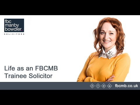 The life of an FBCMB Trainee Solicitor!
