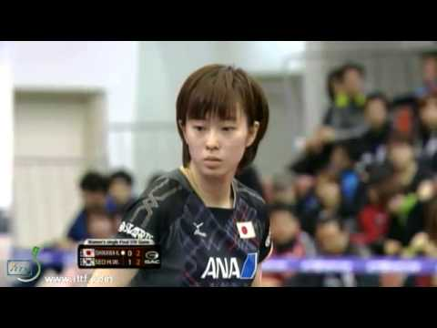 2013 ITTF Korea Open.Incheon.SEO Hyowon (KOR)  vs ISHIKAWA