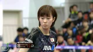 2013 ITTF Korea Open.Incheon.SEO Hyowon (KOR)  vs ISHIKAWA  Kasumi (JPN)