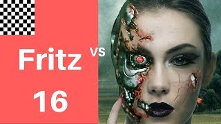 Instructive Chess Game | Dark square infiltration |   Fritz 16.10 vs Leela ID 11248