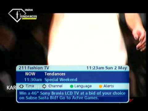 Fashion tv india tata sky