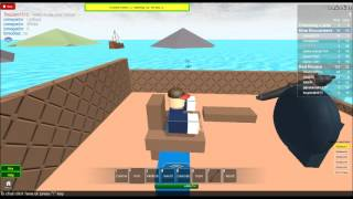 Red vs. Blue pirate war on roblox