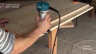 [목공 / Woodworking] 트리머 사용법 / Using A Trim Router / Palm Router