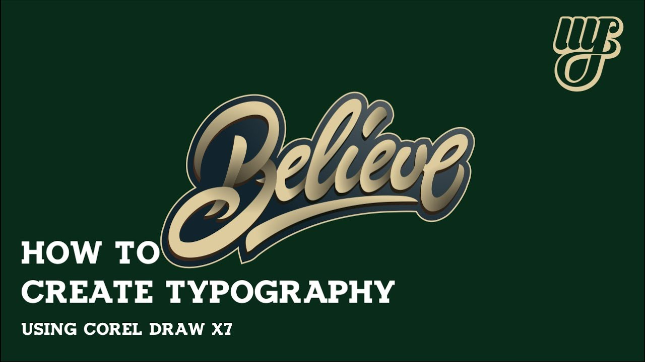 typography tutorial