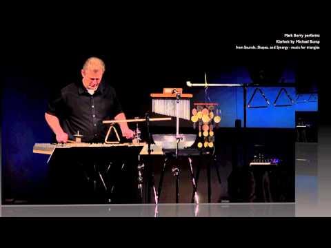 Mark Berry performs Klarheit (excerpts) by Michael Bump