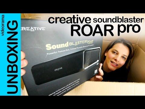 Creative SoundBlaster Roar Pro unboxing en español | 4K UHD