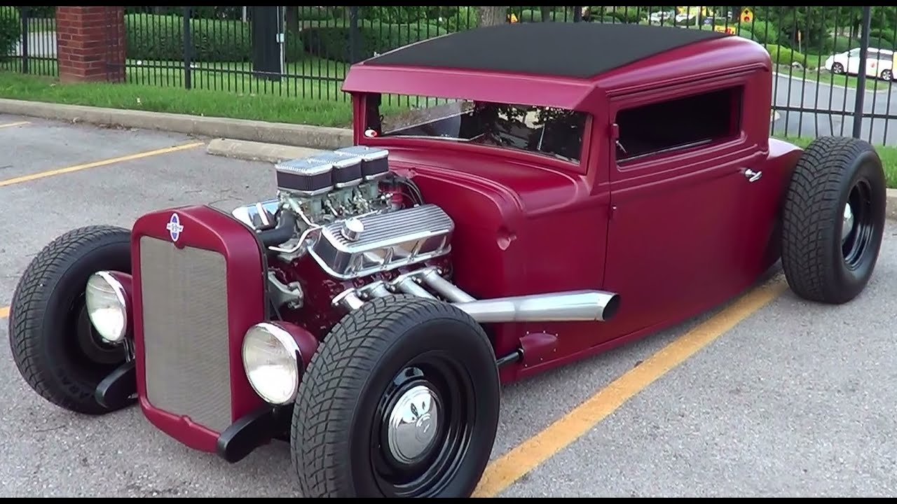 1930 Chevrolet Traditional Hot Rod - YouTube