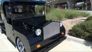 Hot Rod Halloween Coffin Hauler / SPOOKY FUN CUSTOM CARRIAGE!