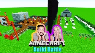 KAANS FRIEDHOF vs NINAS FRIEDHOF! Welcher ist gruseliger? Minecraft Horror Build Battle