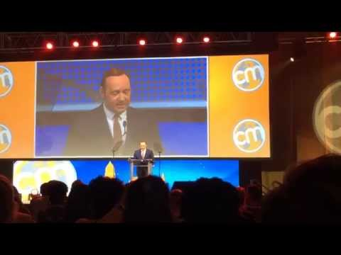 Content marketing world conference Keynote speech / Kevin Spacey