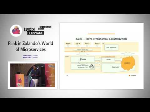 Flink Forward 2016: Javier Lopez & Mihail Vieru - Flink in Zalando's World of Microservices
