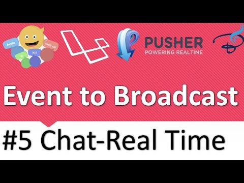 Real Time Chat With Laravel Broadcast, Pusher and Vuejs