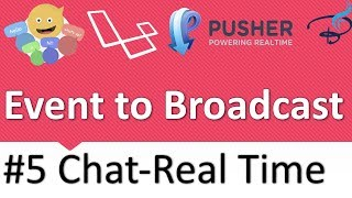 Real Time Chat With Laravel Broadcast, Pusher and Vuejs | Create an Event to Broadcast #5