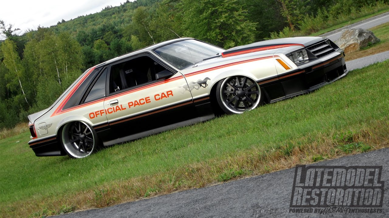 SINIS Built Mustang - 1979 Pace Car - YouTube