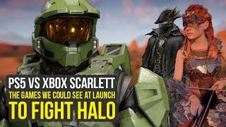PlayStation 5 Vs Xbox Scarlett - What PS5 Launch Game Will Fight Halo Infinite (Horizon Zero Dawn 2)