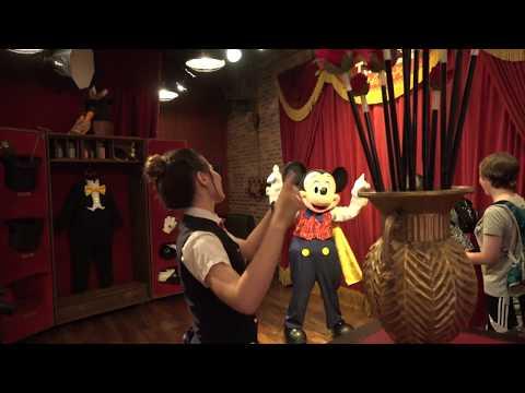 New Look Talking Mickey Mouse Meet And Greet Debuts At The Magic Kingdom