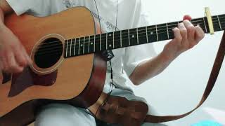 ゆず GreenGreen ギター cover