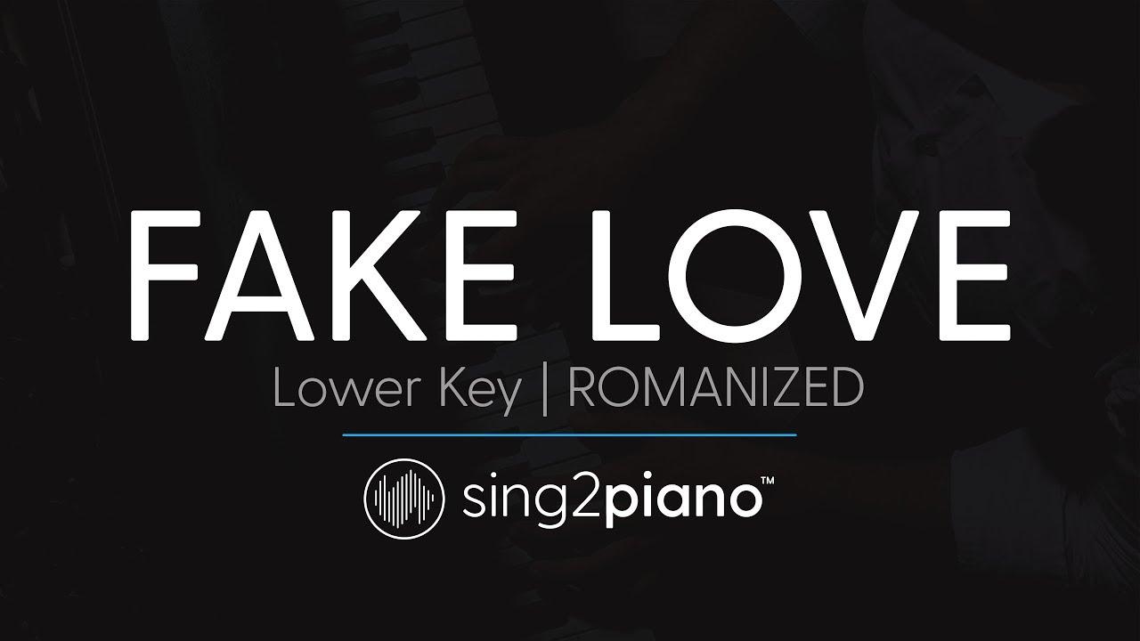 i hate you i love you karaoke piano