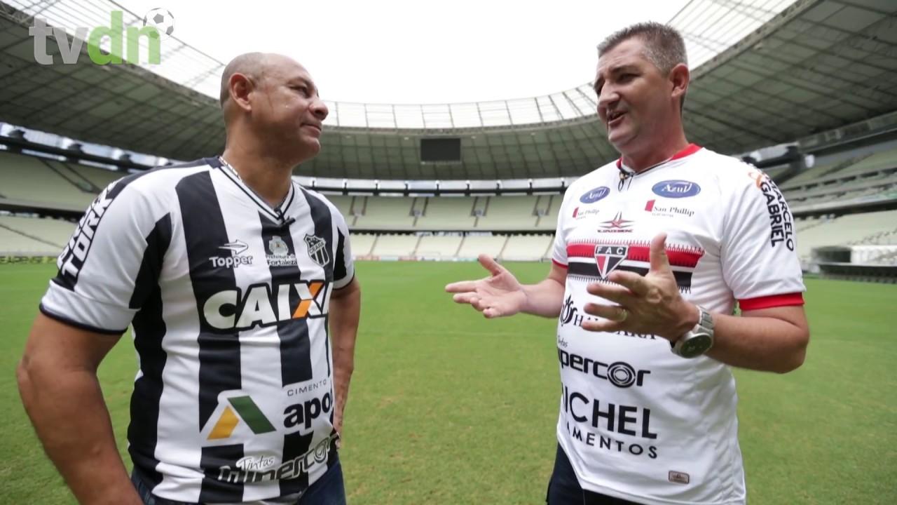 Ex- jogadores de Ferrão e Vozão lembram final de 98