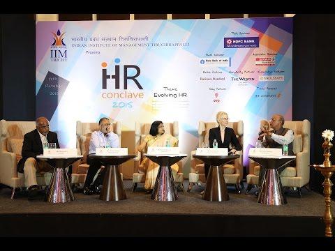 HR Conclave 2015 Indian Institute of Management, Tiruchirappalli