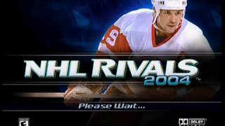 "[Xbox] Introduction du jeu ""NHL Rivals 2004"" de Microsoft (2004)"