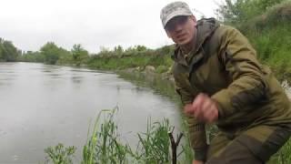 Рибалка фідером на річці Стир Рибалка в екстримальних умовах