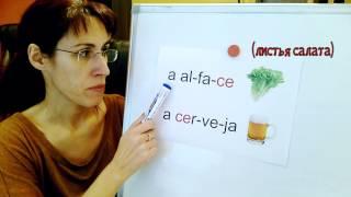 Урок португальского языка  Звук С в буквосочетаниях ca, co, cu, ce, ci
