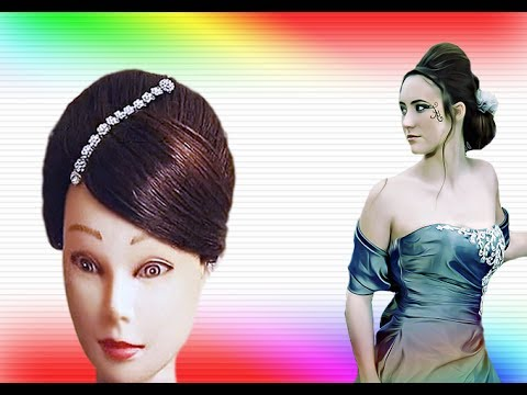 romantic prom hairstyle long