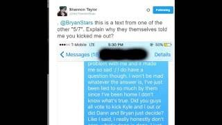 MY DIGITAL ESCAPE TWITTER DRAMA SCREENSHOTS BRYAN VS SHANNON VS TYLER