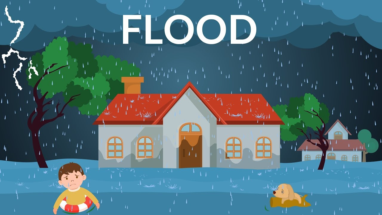 Flooding Explanation- Learn about Flood- Video for kids ...