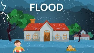 Flooding Explanation- Learn about Flood- Video for kids