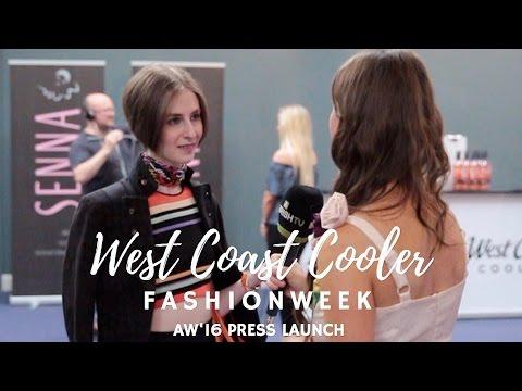 West Coast Cooler Belfast FASHIONWEEK AW'16 Press Launch!