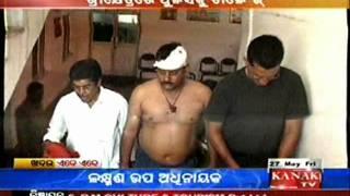 Kanak TV Video: Attack on Puri town police station IIC