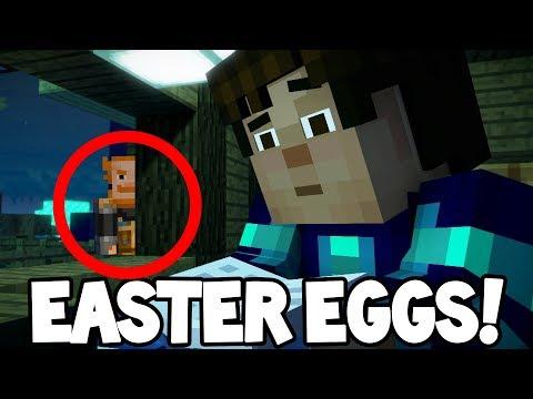 "Minecraft Story Mode: Season 2 - HIDDEN EASTER EGGS! ""Episode 4"""