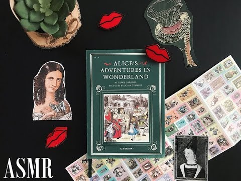 Alice`s adventures in Wonderland / Обзор блокнота / АСМР / ASMR