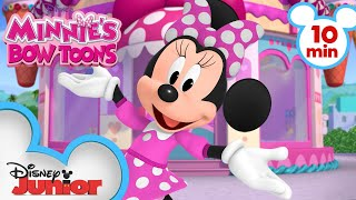 New Minnie's Bow-Toons! | Compilation | Minnie's Bow-Toons | @Disney Junior