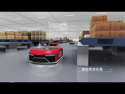 JD.com's vision for the smart logistics center of the future