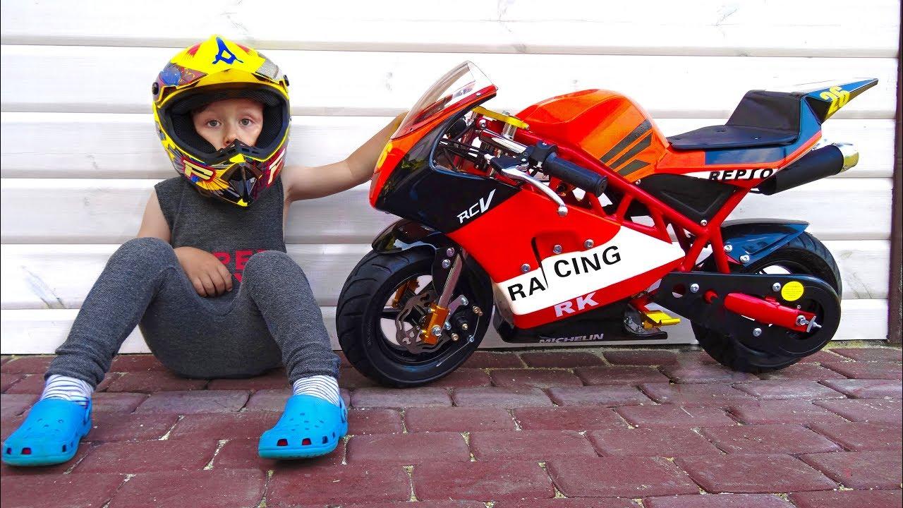 Baby Biker Senya Unboxing And Assembling The Pocker Bike