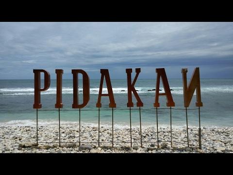 Pantai Pidakan Pacitan lebih Indah dan Sejuk